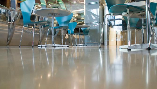 Использование наливных полов в офисных помещениях