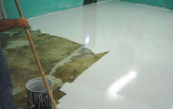 Особенности укладки наливного покрытия
