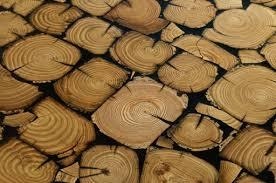 Наливной пол с эффектом натурального дерева