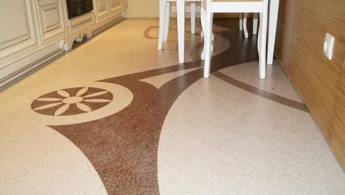 Декоративный наливной пол — новое слово в дизайне и ремонте