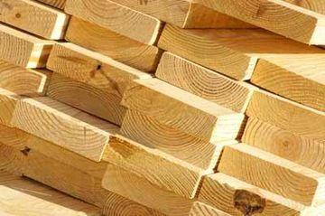 Обрезная доска остается самым экологичным материалом для строительства