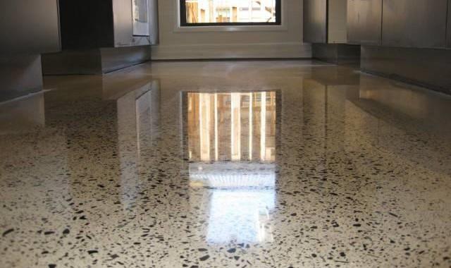 Полированные бетонные наливные полы