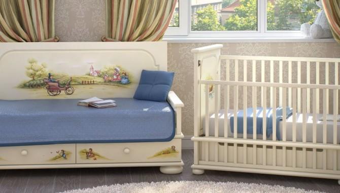 Почему советуют покупать мебель в детскую комнату из массива дерева?