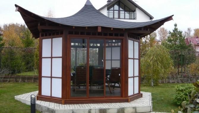 Беседка «чайный домик» — украшение любого участка!